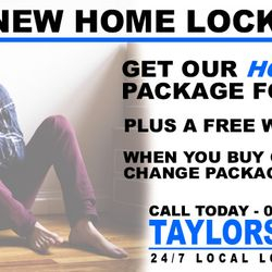 New Home Lock Upgrades from £99 | Call Taylors Locksmiths 07525639943