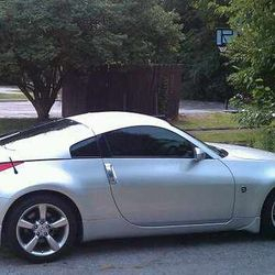 We Can Tint Your  Nissan 350z
