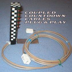 CHECKERED FLAG USB COUNTDOWN LEDs