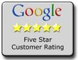 Top rated carpet cleaning company on google