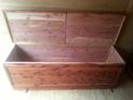 """Red Cedar Chests 72"""" long"""