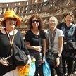 alt= Travel group, Colliseum Rome