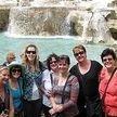 alt= Travel group Trevi Fountain, Rome, Italy
