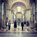 "<img src=""australian womens travel.jpg alt=womens tour group in vatican museum, italy"""