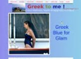 Greek Blue Glam,  Greek2m Celebrities Page, Celebs love Greece