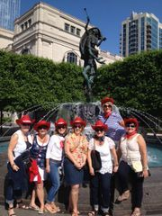 This fun group of ladies from Toronto went on the Music City Pub Crawl