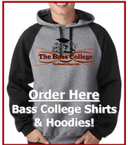 The Bass College apparel store