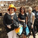 "<img src=""australian womens travel.jpg alt=womens tour group Colloseu laughing in the collosseum, rome, italy"">"