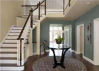 Painted Foyer, Benjamin Moore