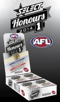 2014 Select AFL Honours cards