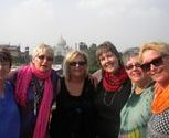 "<img src=""australian womens travel.jpg alt=womens tour group with taj mahal in the background, agra india"">"