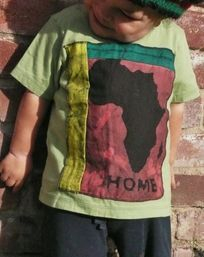 Africa Shirt, Africa batik shirt, kids African clothing