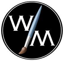 Painting studio logo