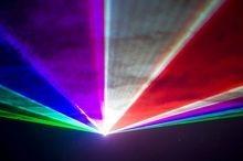 colour laser show hire