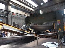 "400 Ton x 238"" (6000mm) Boldrini Hydraulic Dishing Press w / Manipulator"