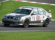 Vulcan Racing MGZS Simon Lowery
