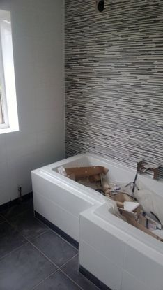 Full bathroom tiling including floor in wednesbury, walsall