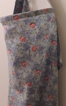 flower burst nursing cover