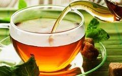 tea cup, green tea