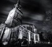 The Newcastle Quayside ghost walk visits the graveyard of the haunted All saints where a ghostly man has been seen