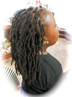 Kids Dread Extensions by Bee, She was natural and wanted natural instant locs and we make it happen within 6 hours at Braidsbybee