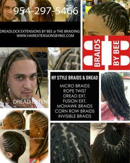 Bee first promo ad on Sharpsaver Magazine.  Bee shows her different styles coming from Braids by Bee @ The Braiding Depot Inc.  Unique braids, Dreads Extensions, Micro Braids, Kinky Rope twist, and many more that we offer and love to do.