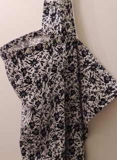 Midnight Flower nursing cover