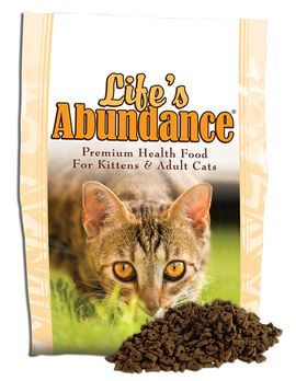 Life's Abundance is the best food for your cats