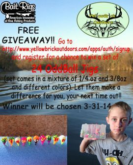 Free Walleye Jig Set GiveAway