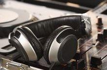 Dj Headphones Event Party