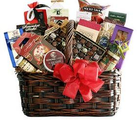 Christmas Gift Basket holiday gift