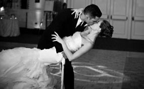 wedding couple dancing with arthur murray