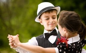 Kids learning ballroom dancing at Arthur Murray Bay Shore