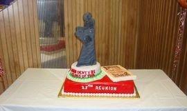 Cake at a Dewey Reunion