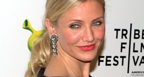 New York Film festival with Cameron Diaz on the red carpet