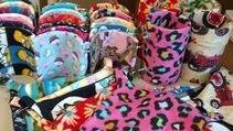 Custom Fleece Supplies Available through Tiffany's Chinchillas
