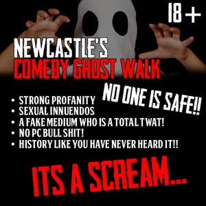 Comedy Ghost Walk of Newcastle is a real scream with Haunted City Tours Newcastle