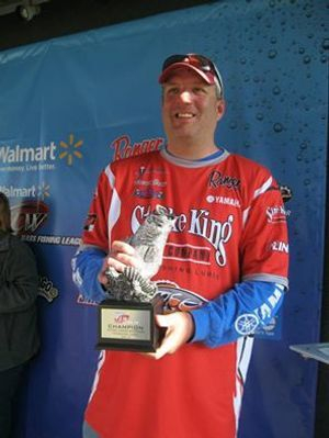 Pickwick fishing guide Brent Crow won the March 8 BFL at Pickwick