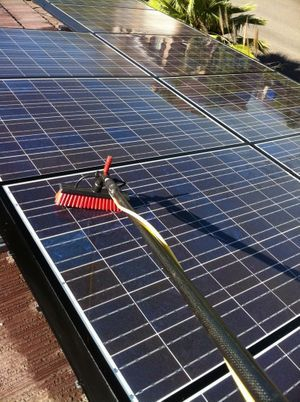 Solar Panel Cleaning Riverside