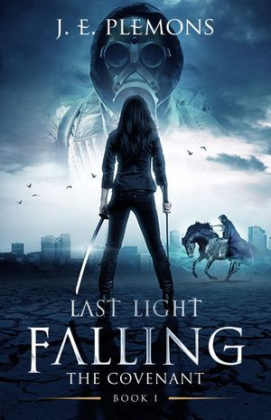Fiction Novel Last Light Falling Apocalypse book cover