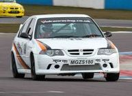 Vulcan Racing MGZS V6 Peter Burchill