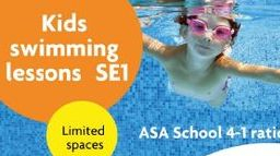 kids swimming classes in london