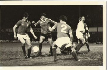 Goliath slain: Chesterfield defeat Rangers in the Anglo-Scottish Cup, 1981