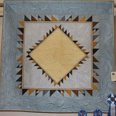 The Shell Collector - Bethanne Nemesh won Best of Show, 1st in Quilting Excellence Machine and 1st in Overall Craftsmanship - quilted by Bethanne Nemesh