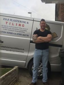 Me the sole trader of P.D.P.Plastering & Tiling