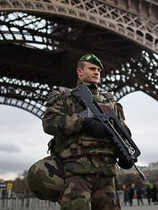 Terror Changes Europe . Paris armed after the Charlei He bdo attack