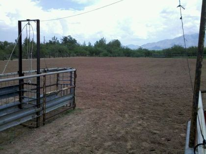 Full Sized Team Roping Arena