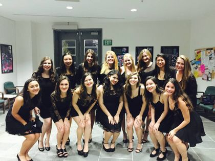 before our fall concert!