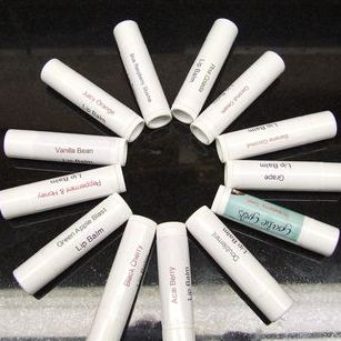lip balms-petroleum free-choose flavor