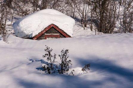 A snow laden roof is a dangerous liability